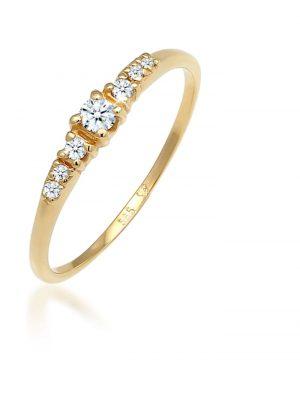 Diamore Ring Verlobungsring Diamanten (0.14 ct) 585 Weißgold Diamore Gold