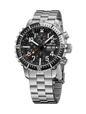 Fortis Chronograph Marinemaster Silver Chrono 671.17.41