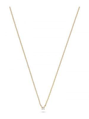 Guido Maria Kretschmer Damen-Kette 925er Silber 1 Diamant Guido Maria Kretschmer gold
