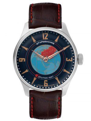 Heritage Sputnik Herrenuhr Handaufzug Sturmanskie Blau