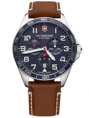 Herren-Armbanduhr FieldForce Chronograph Victorinox Blau