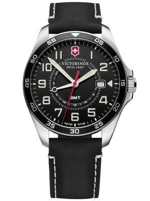 Herren-Armbanduhr FieldForce GMT schwarz Victorinox Schwarz