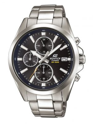 Herrenuhr-Chronograph Casio Silberfarben