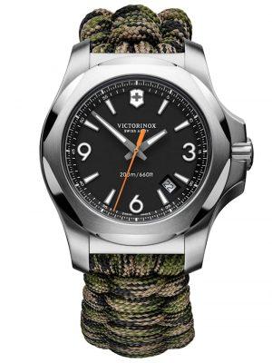 Herrenuhr I.N.O.X. Professional Diver mit 2 Armbändern Victorinox Schwarz