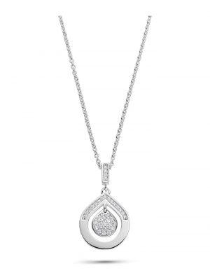 JETTE Silver Damen-Kette 925er Silber 37 Zirkonia Jette silber