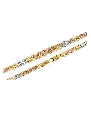 Königskette in Gold 585 Diemer Gold Multicolor