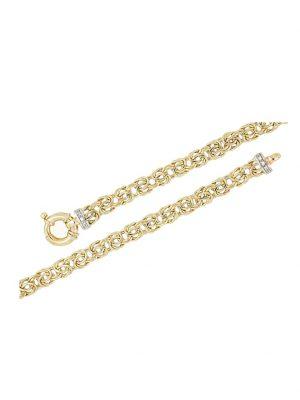 Königskette mit Diamanten Diemer Gold Gelbgoldfarben