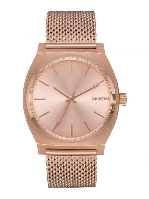 Nixon Damen-Uhren Analog Quarz Nixon rosé