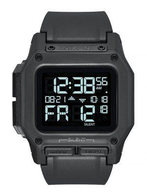 Nixon Herren-Uhren Digital Quarz Nixon schwarz