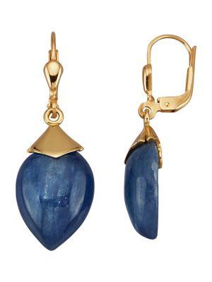 Ohrringe Diemer Farbstein Blau