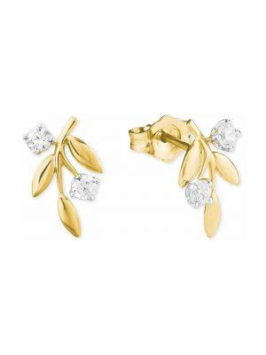Ohrstecker für Damen aus Gold 585/14 ct amor Gold