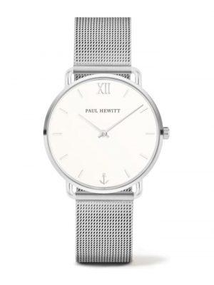 Paul Hewitt Damen-Uhren Analog Quarz Paul Hewitt silberfarben