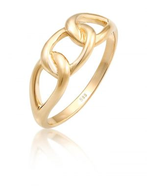 Ring Knoten 585 Gelbgold Elli Premium Gold