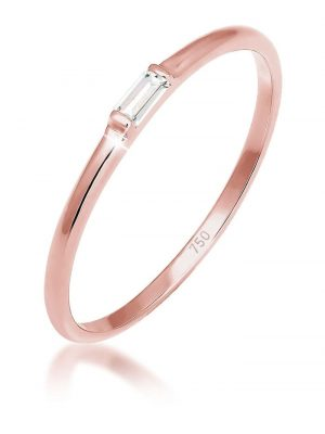 Ring Liebe Zart Edel Geo Topas 750 Roségold Elli Premium Rosegold