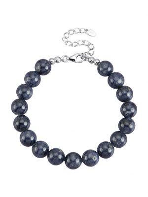 Saphir-Armband Diemer Farbstein Blau