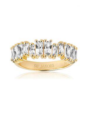 Sif Jakobs Jewellery Damenring Antella Piccolo SJ-R1077-CZ-YG-52