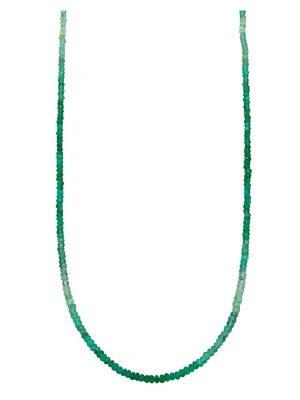 Smaragd-Kette Diemer Farbstein Grün