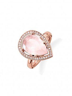 Thomas Sabo TR2043-537-9 Ring Maharani Rosé Rosa Gr. 54