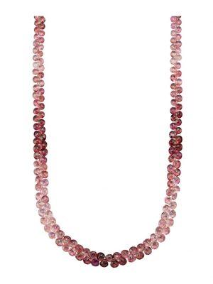 Turmalin-Kette Diemer Farbstein Pink