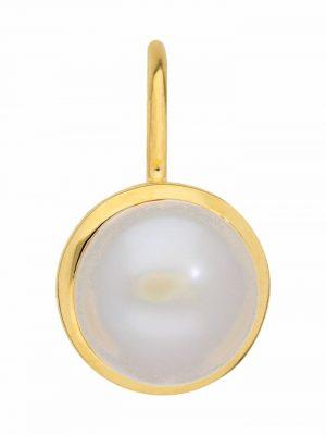1001 Diamonds Damen Goldschmuck 333 Gold Boutons mit Süßwasser Zuchtperle Ø 7,7 mm 1001 Diamonds gold
