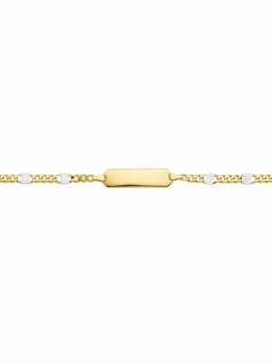 1001 Diamonds Damen Goldschmuck 333 Gold Fantasie Armband 14 cm 1001 Diamonds gold