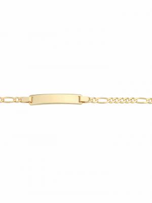 1001 Diamonds Damen Goldschmuck 333 Gold Figaro Armband 18,5 cm 1001 Diamonds gold