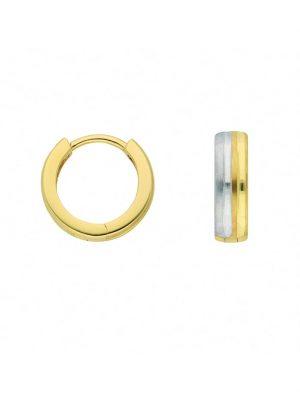 1001 Diamonds Damen Goldschmuck 333 Gold Ohrringe / Creolen 1001 Diamonds gold