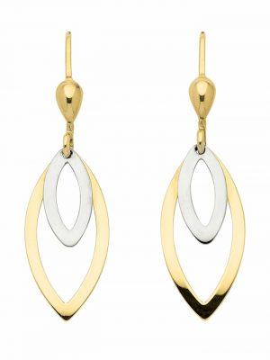 1001 Diamonds Damen Goldschmuck 333 Gold Ohrringe / Ohrhänger 1001 Diamonds gold