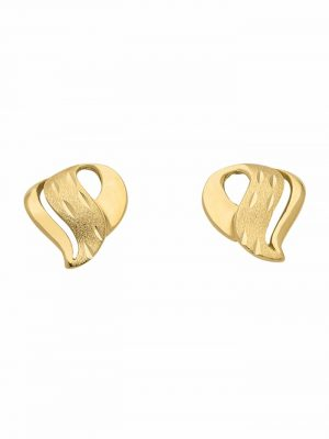 1001 Diamonds Damen Goldschmuck 333 Gold Ohrringe / Ohrstecker 1001 Diamonds gold
