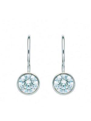 1001 Diamonds Damen Goldschmuck 333 Weißgold Boutons mit Zirkonia Ø 6,1 mm 1001 Diamonds silber