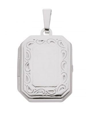 1001 Diamonds Damen Silberschmuck 925 Silber Medaillon Anhänger 1001 Diamonds silber