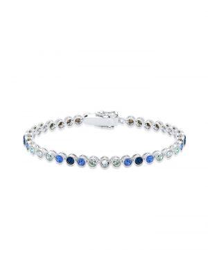 Armband Mehrfarbig Swarovski® Kristall 925 Sterling Silber Elli Silber
