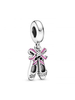 Charm-Anhänger -Ballerina Schuhe Pandora Rosé