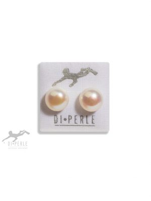 Damen Perlenschmuck 585 Gelbgold Süsswasser Perlen Ohrstecker DI PERLE weiß