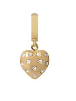 Endless 35800 Charm-Anhänger Million Heart Drop Gelb-Gold Saphir