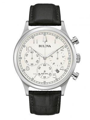 Herren-Chronograph Bulova Schwarz