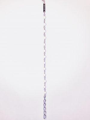 Monomania 43504 Armband Damen Achat Weiss Edelstahl 20 cm
