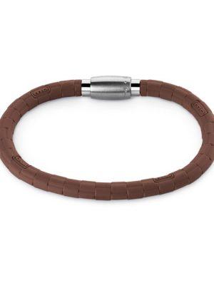 Monomania 45121BR Armband Unisex Silikonkautschuk braun 19 cm