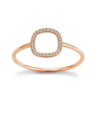 Palido Ring - Diamant Roségold 585 - K10737/R
