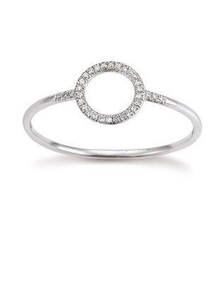 Palido Ring - Diamant Weißgold 585 - K10732