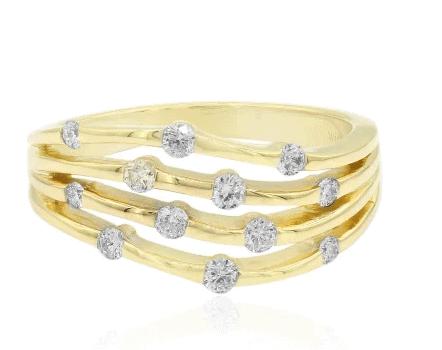 Brillant Ring Goldring