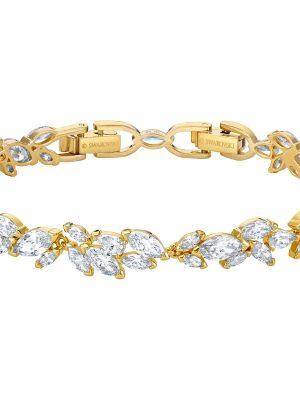 Swarovski 5505863 Armband Damen Louison Weiss Vergoldet
