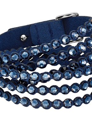Swarovski 5511697 Armband Damen Power Collection Slake Blau