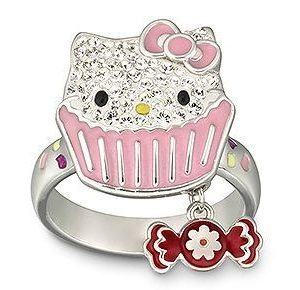 Swarovski Ring - Hello Kitty Sweet - 1120604