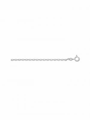 1001 Diamonds Damen Weißgoldschmuck 585 Weißgold Anker Halskette 1001 Diamonds silber