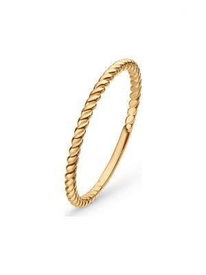 CHRIST Gold Damenring Twisted