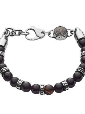 Diesel DX1163040 Armband Herren Beads Black Line Achat Edelstahl