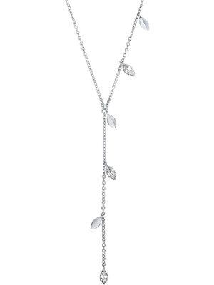 FAVS Damen-Kette 925er Silber Zirkonia
