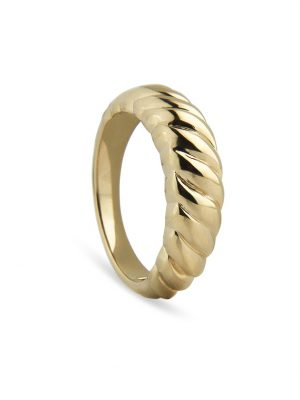 Jeberg Ring - Twisted Dome - 60600