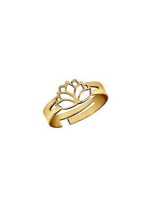 LaViida Ring - Lotusblüte - Gold - RSI309GG
